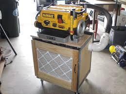 dewalt table saw dust collection help with dw735 planer dust collection by cfurnitureguy