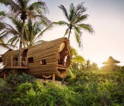 cool tree house tree house modern design nature inspired