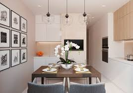 interior design of kitchen in low budget home decorating