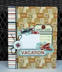 vacation photo albums make this mini album entirely from scratch it has a handy