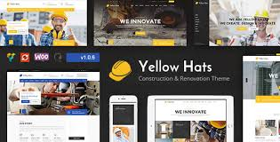 renovation theme yellow hats v1 0 6 wp construction building renovation theme