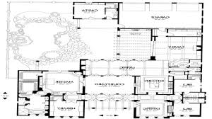 28 spanish style house plans with courtyard american ranch garage