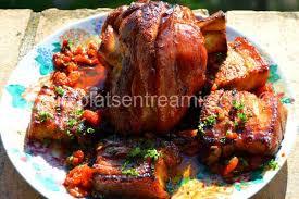 cuisine jarret de porc jarret de porc au miel petits plats entre amis