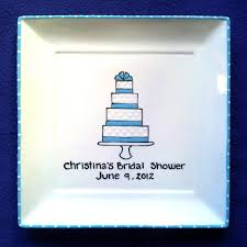 guest book platter bridal shower product categories brush stroke plates