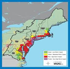 Atlantic Coast Map Building Climate Resilience North Atlantic Coast Comprehensive