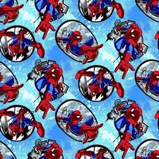 marvel wrapping paper cotton fabric character fabric badge marvel