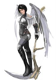 grim reaper u0027s angel sketch by chengc02 on deviantart