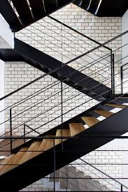 Folding Stairs Design Gallery Of Townhouse With A Folding Up Shutter Mm Architects