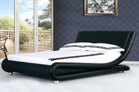 Bed Images Cheap Boston Faux Leather Black Italian Designer Bed Beds Company