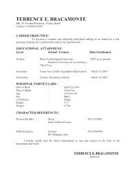 Draft Resume Example Of Good Resume U2013 Inssite