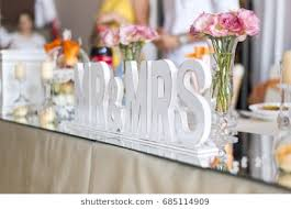 mr and mrs table decoration mr mrs letters images stock photos vectors shutterstock