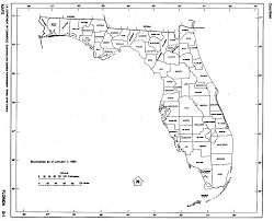 Map Of State Of Florida by