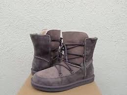 womens ugg lodge boot ugg lodge nightfall water resistant sheepskin winter boots us 10