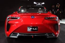 lexus lf lc blue first look lexus lf lc breaks cover at detroit forcegt com