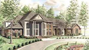 Georgian Style Home Plans Georgian Style House Plans Plan 27 225