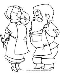 christmas santa coloring santa clause sheet