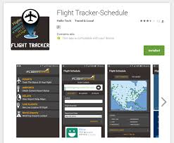 android tracker flight tracker schedule android application hellotech android