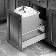 Kitchen Cabinet Garbage Drawer Cabinet Trash Pull Out With Bottom Mount Soft Close