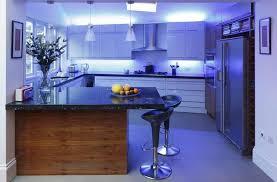 Kitchen Led Light Fixtures Kitchen Cool Led Kitchen Lighting For Two Toned Kitchen Design