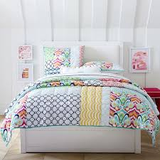 sutton upholstered storage bed pbteen