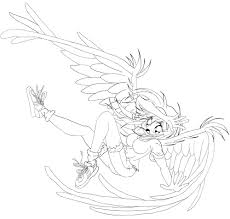 anime angel coloring pages anime angels coloring page best pages