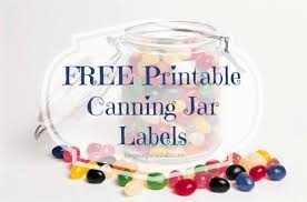 9 best images of free printable canning label templates free