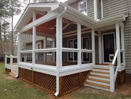 screen porch plans free home design ideas
