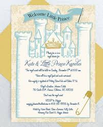 prince baby shower invitations appealing royal themed ba shower invitations which can be used