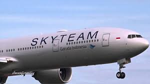 Garuda Indonesia Garuda Indonesia Skyteam Livery Boeing 777 300er Test Flight