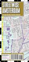 Miami Train Map by Streetwise Amsterdam Map Laminated City Center Street Map Of