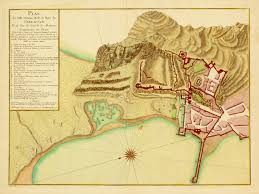 Mole Map Gibraltar 1779 Great Siege Of Gibraltar Plan Battlemaps Us
