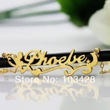 custom made name necklaces custom made name necklace personalizedperfectly