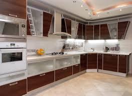modern wooden kitchen designs light brown wooden kicthen cabinet