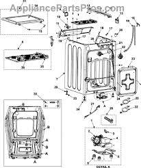 samsung dc31 00054a drain pump appliancepartspros com