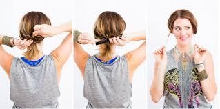 Hochsteckfrisurenen F Mittellange Haar Anleitung by Lässige Hochsteckfrisuren Für Mittellange Haare 12 Tolle Styling