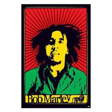 bob marley rasta image wall poster
