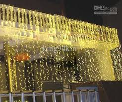 curtain lights cheap 960 led lights 15m 2m curtain lights christmas ornament