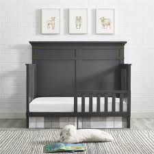 dorel living baby relax kellee toddler guard rail slate gray
