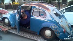 blue volkswagen beetle 1970 vw bug patina u0027d 64 youtube