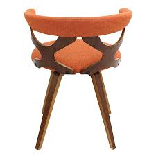 orange dining room chairs home decor marvelous orange dining chairs with zeppelin modern