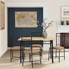Dining Table Design Dining Room Stylish Nice Decorative Pattern Mainstays Dining Set