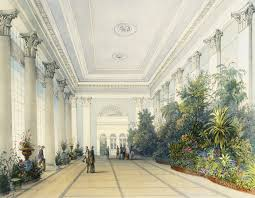 murals of winter garden interior by royal horticultural society choose your muralchange product