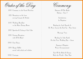 Sample Of Wedding Program 100 Wedding Ceremony Bulletin Template Diy Wedding Ideas