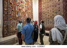 The Carpet Market Carpet In The Carpet Museum Of Iran In Tehran Iran Stock Photo