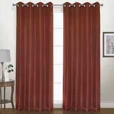 Blackout Curtain Panels With Grommets United Curtain Co Herringbone Geometric Blackout Grommet Single