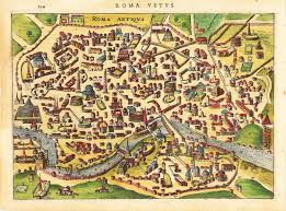 Map Rome Italy by Amazon Com Poster Of Ancient Rome Map Of City Printed On