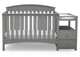 Convertable Crib Delta Children Abby 4 In 1 Convertible Crib And Changer By Delta