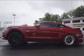 mustang modified video first drag tests of modified 2015 mustang gt and ecoboost