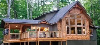cedar homes award winning custom homes post and beam cottage plans