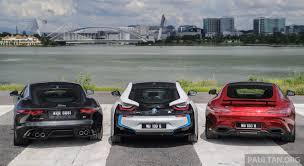 cars bmw driven web series 2015 7 million ringgit sports cars u2013 bmw i8 vs